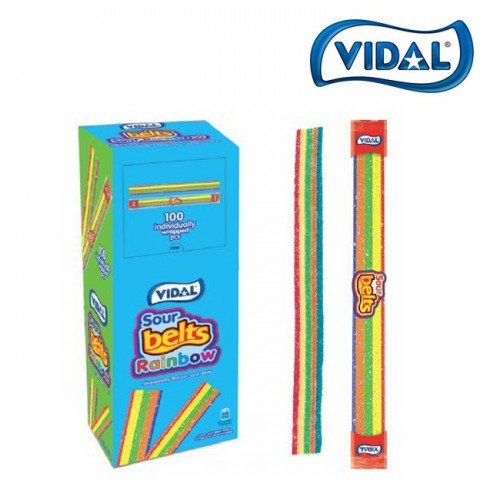 Vidal Sour Rainbow Belts