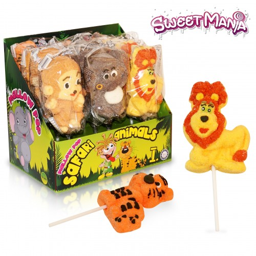 Mallow Pop Safari Animals 1