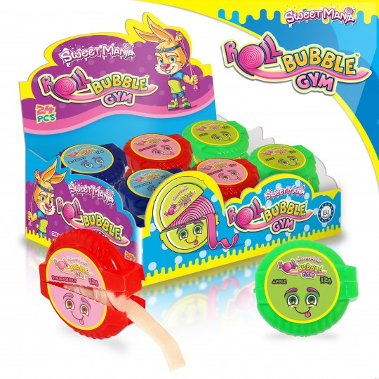 Sweetmania Roll Bubble Gym