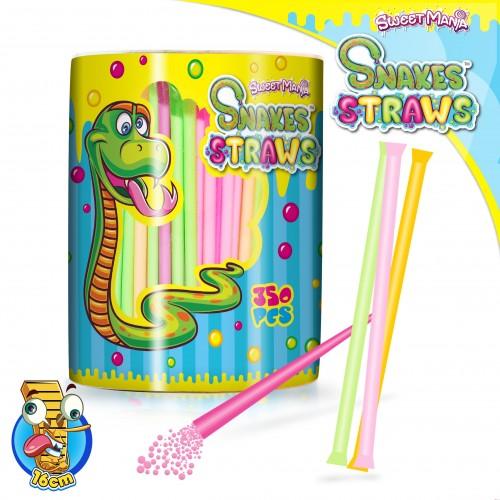 Sweetmania Snakes Straws