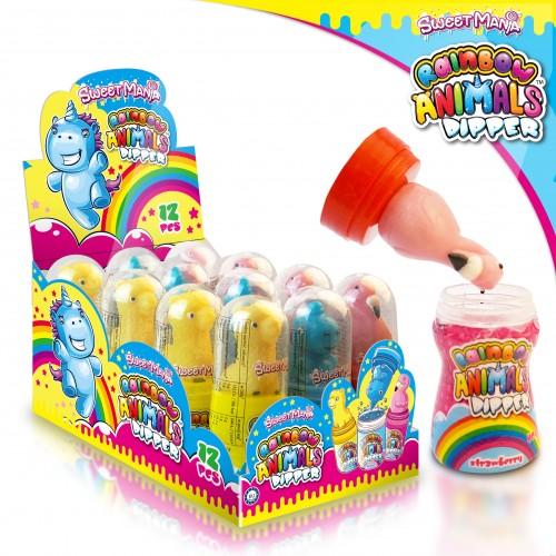 Sweetmania Rainbow Animals Dipper