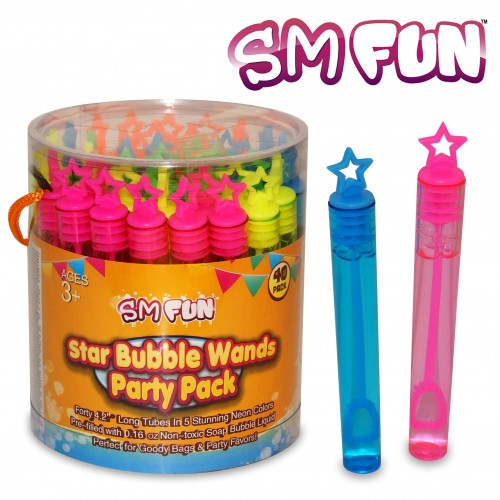 Star Bubble Wands