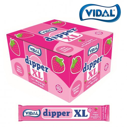 Vidal Dipper XL Strawberry