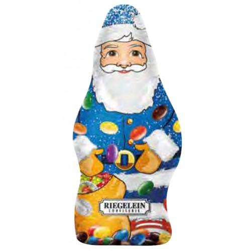 Riegelein Chocolate Santa with candy 100g