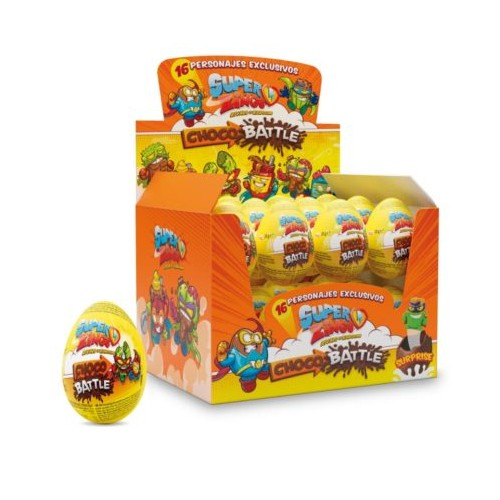 Super Zings Chocolate Egg
